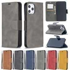 Retro Wallet Leather Flip Case Cover For iPhone 12 Pro 11 X XR X XS Max 7 8 Plus