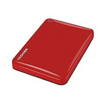 Toshiba Canvio Connect II 3tb USB 3.0 rojo