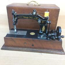 Roues & Wilson 8 Main Manivelle Ancien Couture Machine