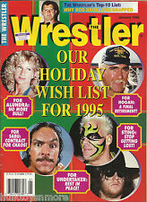 The Wrestler Wrestling Magazine January 1995 Hulk Hogan Sting Undertaker Sabu