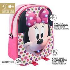 Mochila Minnie Disney C/luces y sonido 24x32x9cm