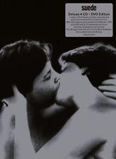 SUEDE - SUEDE (25TH ANNIVERSARY SILVER EDITION)  4 CD+DVD NEU