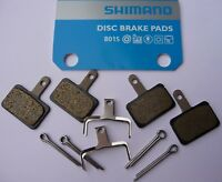 DISC BRAKE Shimano B01S Resin Pads Acera Alivio Deore Deore LX  >>2 PAIR<<