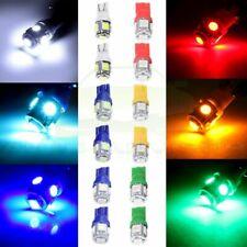 12x MIX Color T10 5-SMD-5050 LED Wedge Cluster Gauge Dash Light Bulbs 194 168