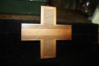 Vintage Wood Crucifix