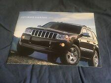 2006 Jeep Grand Cherokee SUV Color Brochure catalog Prospekt