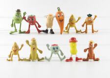 Fruittis === 11 x Werbefiguren Früchte Reklame Figuren