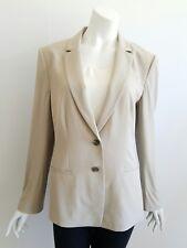 Ann Taylor Women Size 12 Beige Wool Blend Career Work Blazer Jacket NEW NWT