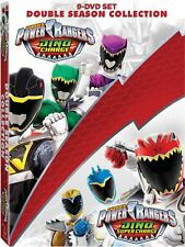 Power Rangers Dino Charge And Dino Super Charge Collection & New DVD Box Set