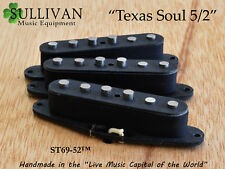 5/2 Alnico Texas Soul Stratocaster pickups Hand Wound Custom Shop SME ST69-52
