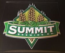 Summit Brewing Co. Beer Signs Wall Window Decals Stickers Minnesota USA NOS