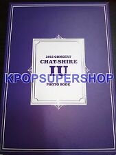 IU Chat-Shire 2015 Concert Photobook Great KPOP Rare Official Goods Chatshire
