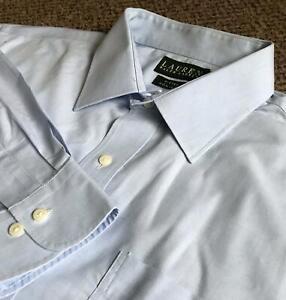 """RALPH LAUREN – Mens Smart/Formal Shirt – 17"""" Collar"""