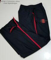 NCAA SDSU AZTECS Spear Logo Nike Team Storm 3 Pocket Zip Ankles Track Pants Sz M