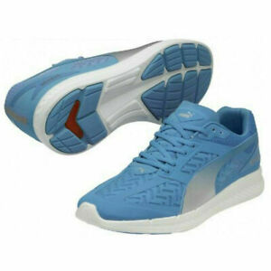 Puma Ignite PowerCool Cushioned Running Shoes Sneakers NEW Men's 9.5 Blue/Silver