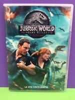 """JURASSIC WORLD """"IL REGNO DISTRUTTO""""- DVD- USATO GARANTITO"""