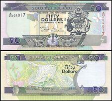 Solomon Islands 50 Dollars, 2001, P-24, UNC