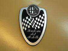 ALFA ROMEO MILANO Fridge MAGNET Scuderia del Portello Shield Classic Car Gift