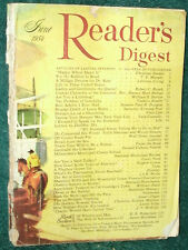 READER'S DIGEST 1954 JUNE QUEEN;LITTERBUG;INFERTILITY;LOUIS SLOTIN;BASEBALL;WIFE