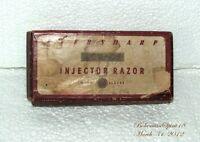 Vintage Antique EVERSHARP SCHICK INJECTOR  RAZOR SET ORIGINAL BOX COLLECTIBLE