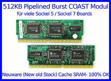 512KB Cache SRAM Pipelined Burst COAST-Modul (NEW OLD STOCK!) 100% OK