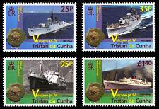 Tristan da Cunha 2013 Volcanoes Pt 4 4v set MNH