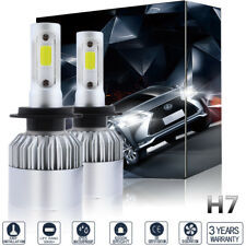 1 Pair 1400W 210000LM H7 LED Headlight Conversion Kit Bulbs 6000K Xenon White