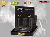 1 Accendino  Clipper New Metal Nero Jet Flame Mat Black Limited Edition ★
