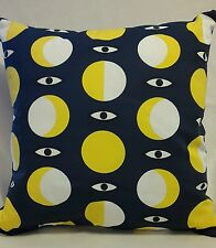 Lazy Butor yeux/IKEA glodande bleu jaune cercle motif tissu + BN Coussin Pad