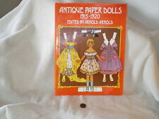 """""""Antique Paper Dolls 1915-1920"""", Edited by Arnold Arnold, Dover Pub 1975"""