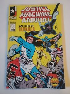Justice machine annual 1