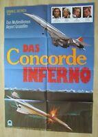 Filmplakat - Das Concorde Inferno ( Joseph Cotten , Mimsy Farmer )