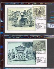 STAMPS 2 CARD MAXIMUN VATICAN CITY POPE (L7282)