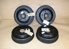 """1937-38 Pontiac Hub & Drum Front Rear Set Wheel Brake 12 """" Set of 4 Lot # 7 NOS"""