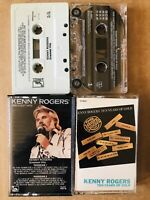 Kenny Rogers Greatest Hits and 10 Years Of Gols Cassette 2Tapes Lot  Tested