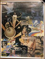 Original Vintage Poster elan vital journal creative adventure Outer space pinup
