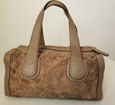Authentique sac à main MaxMara en cuir et daim