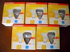 10 x Sylvania GU10 LED Dimmable Light Bulbs New! 6w = 50w PAR16 22 Year Life