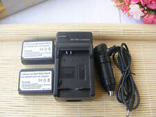 2X ED-BP1030 Battery + Charger for Samsung EDBP-1030 BP1030