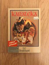 Karateka Commodore 64 128 Atari 400 800 XL XE Game Broderbund