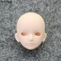 "1pc Soft DIY Doll Head For 11.5"" Doll Heads For 1/6 BJD Doll's Practicing Head"