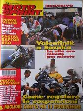 MOTOSPRINT n°31 2000  Prova verità Cagiva Raptor 650 Ducati 748 / 996   [P61]