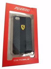 Ferrari Official Iphone 4 4s Scuderia Collection Black Hard Case Feschcipre New