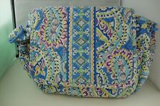 Vera Bradley Handbag Purse CAPRI BLUE Blue Purple Green Pink White Yellow