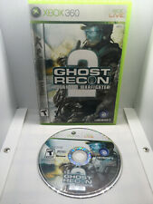 Ghost Recon Advanced Warfighter 2 - Case and Disc - Tested & Works -Xbox 360