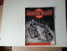 motocycles n 40 15 juil 1950 norton dominator