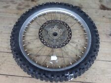 Suzuki RM125 RM250 Front Wheel Rim Hub *Worn Out Tire* 1996