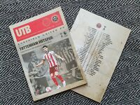 Sheffield United v Tottenham Hotspur Spurs PL Programme 17/1/21 IMMEDIATE POST!!