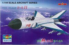 Trumpeter 01328 The PLAAF F-8II Plastic Model Airplane Kit 1/144 Scale