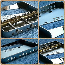 Genuine Fender PAT. PEND. Telecaster VINTAGE POSACENERE Ponte per adattarsi Top pale caricatrici